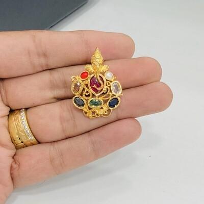 Ganesh Navaratna Locket