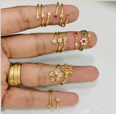 Adjustable Finger Rings