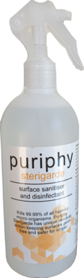 100% Organic - Sterigarde surface sanitiser & Disinfectant - 500ml