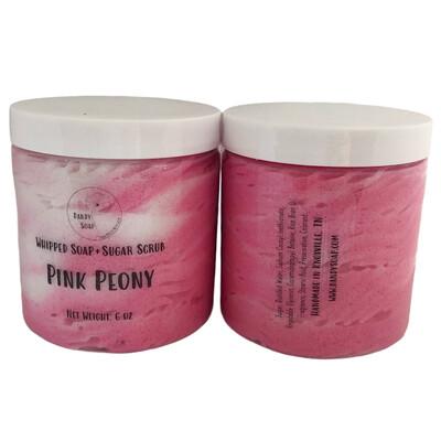 Pink Peony Soap + Scrub