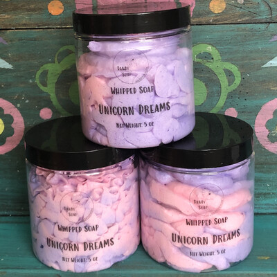Unicorn Dreams Whipped Soap