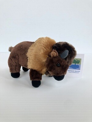 Buffalo Plushie Dog Toy
