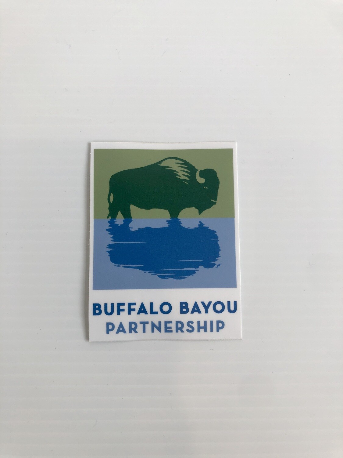 Buffalo Bayou Partnership Sticker