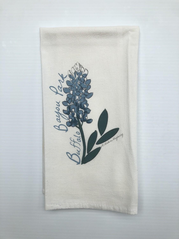 Bluebonnet Tea Towel