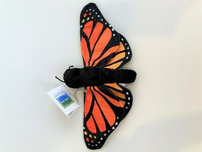 Monarch Butterfly Plushie