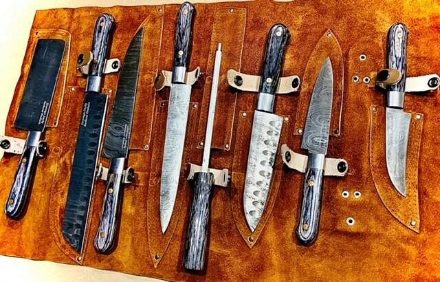 Sovereign Smoke Signature BBQ Knife Set