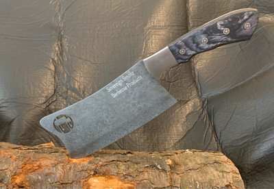 Hand Forged Meat Cleaver