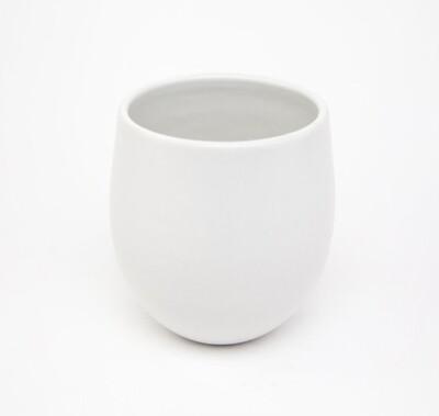Stoneware Goblet Chalk