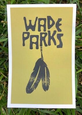 Sticker | Wade Parks