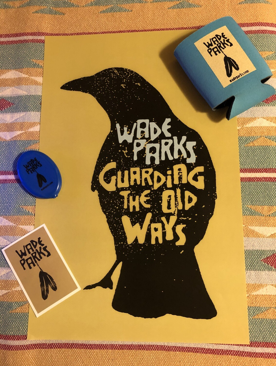 Merch Bundle | Wade Parks | Guarding The Old Ways