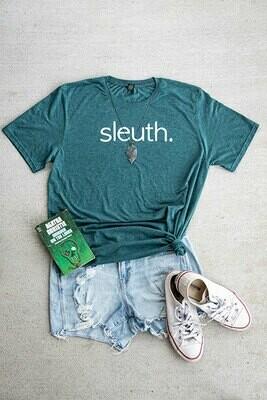 sleuth. Green Tee