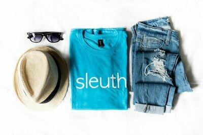 sleuth. Caribbean Blue Tee