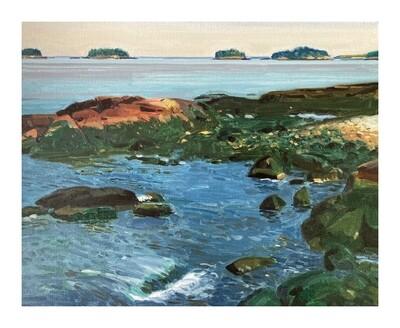 Little Islands, Milbridge   oil on canvas 16