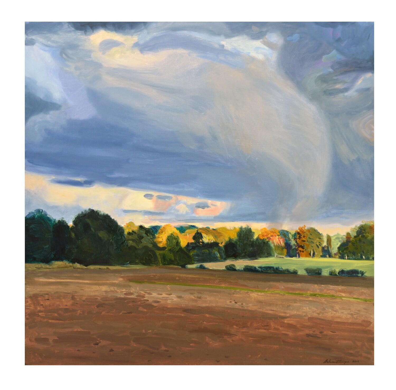 Big Cloud   oil on canvas    36