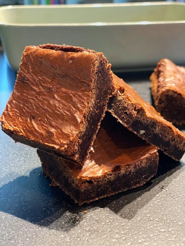 Toblerone Brownies
