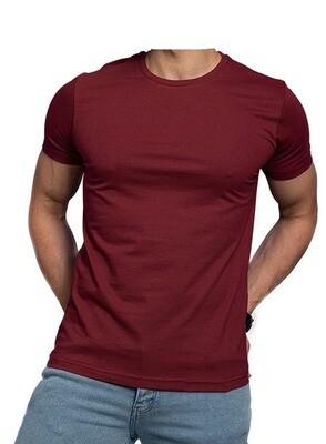 Reddish Brown Egyptian cotton t shirt