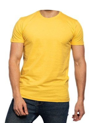 Cyber Yellow Egyptian cotton t shirt
