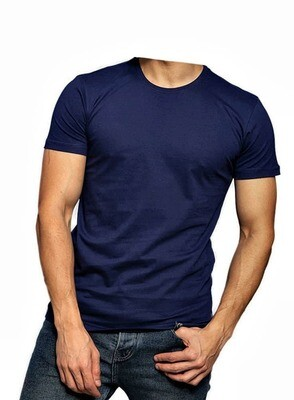 Navy Egyptian cotton t shirt