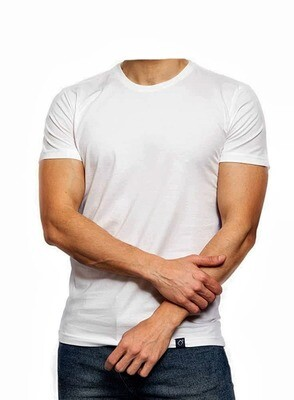 White Egyptian cotton t shirt