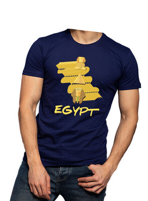 Egypt navy t-shirt