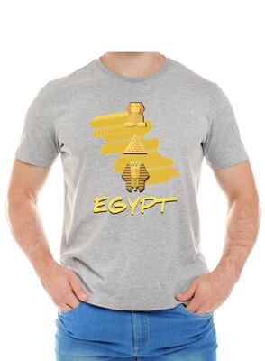 Egypt gray t-shirt