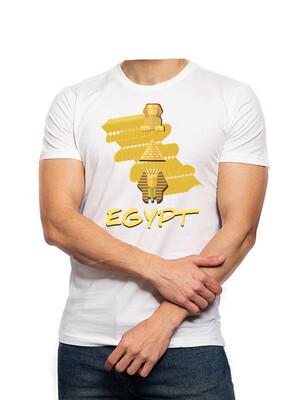 Egypt white t-shirt