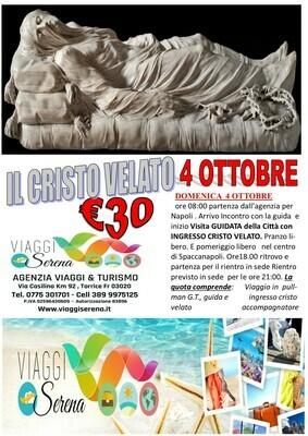Cristo VELATO 4 Ottobre
