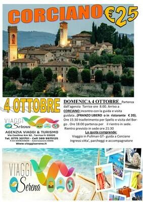 Borgo di CORCIANO 4 Ottobre