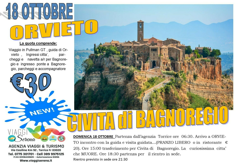 Orvieto & Civita di Bagnoregio 18 Ottobre