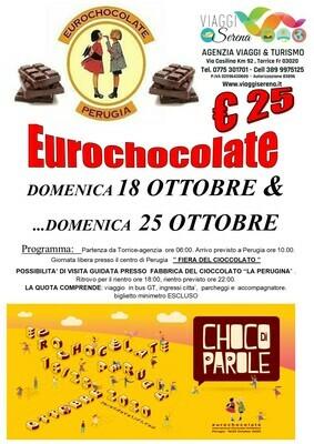EUROCHOCOLATE  Perugia 18 Ottobre