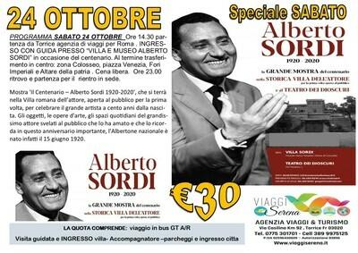 Museo di ALBERTO SORDI 24 Ottobre