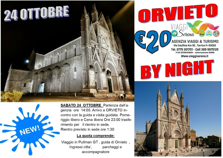 Orvieto by night 24 Ottobre