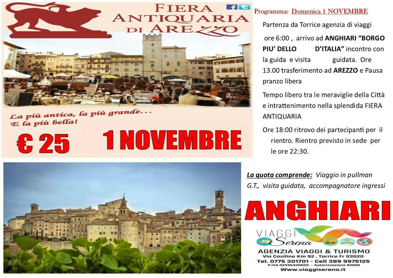 ANGHIARI & AREZZO 1 Novembre