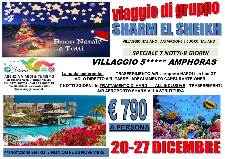 Speciale Natale: SHARM EL SHEIKH 20-27 Dicembre