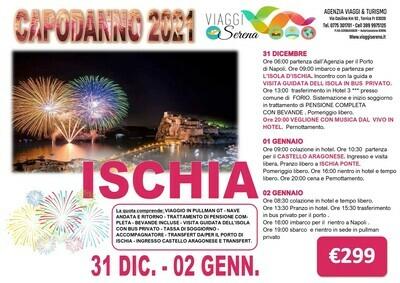 Speciale Capodanno: Isola d'Ischia 31 dicembre -2 gennaio