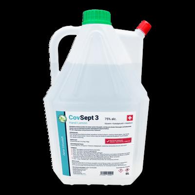 Desinfektionsmittel für Hände CovSept 3 Hand Lemon