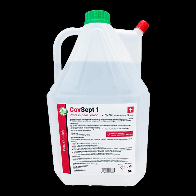 Desinfektionsmittel CovSept 1 Flächen