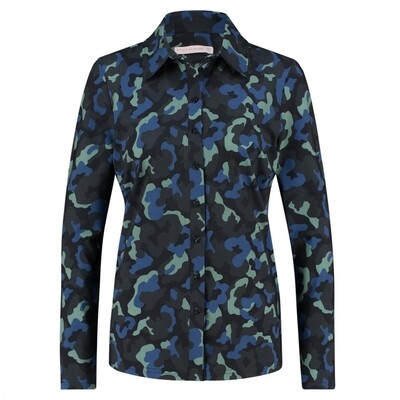 04852POPPYCAMO DARKBLUE/MEADOW GREEN