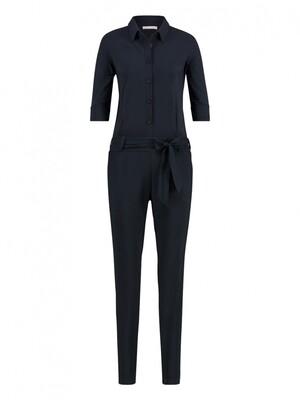 ANGELIQUE jumpsuit donkerblauw   Studio Anneloes