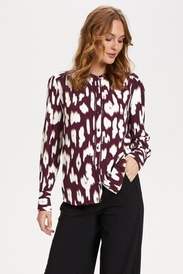 CRISTY10517 WINE ANIMAL SKIN