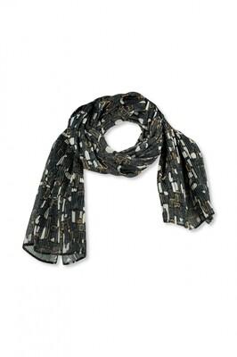 OKKI COBBLESTONES OLIVE sjaal | Lizzy en Coco