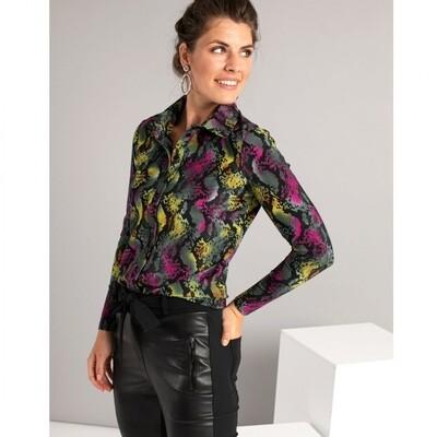 Poppy big snake shirt | Studio Anneloes
