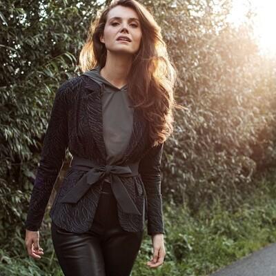 Tesk Animal blazer | Studio Anneloes