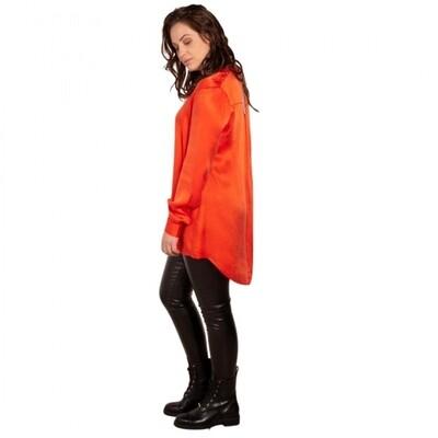LEXI LONG ORANGE blouse | Voyar la Rue