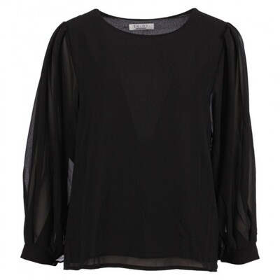 Ballon blouse uni | Enjoy