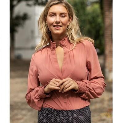 Fiene smoq blouse | Studio Anneloes