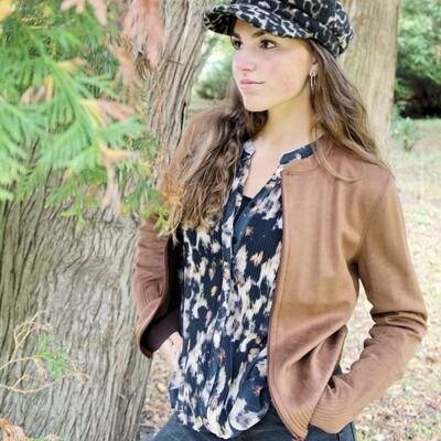 AMIE TOBACCO jacket | Lizzy & Coco