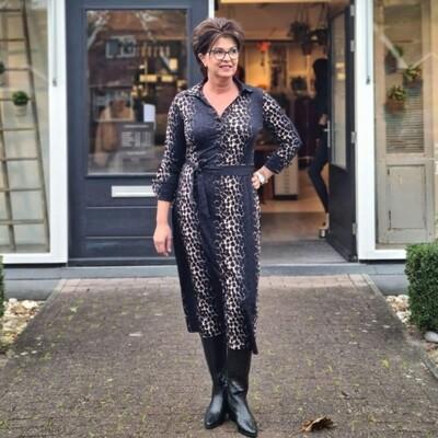DANTIONEA LS LEOPARD DRESS | My-Pashion