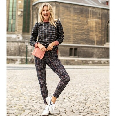 ROAD CHECK TROUSERS | STUDIO ANNELOES