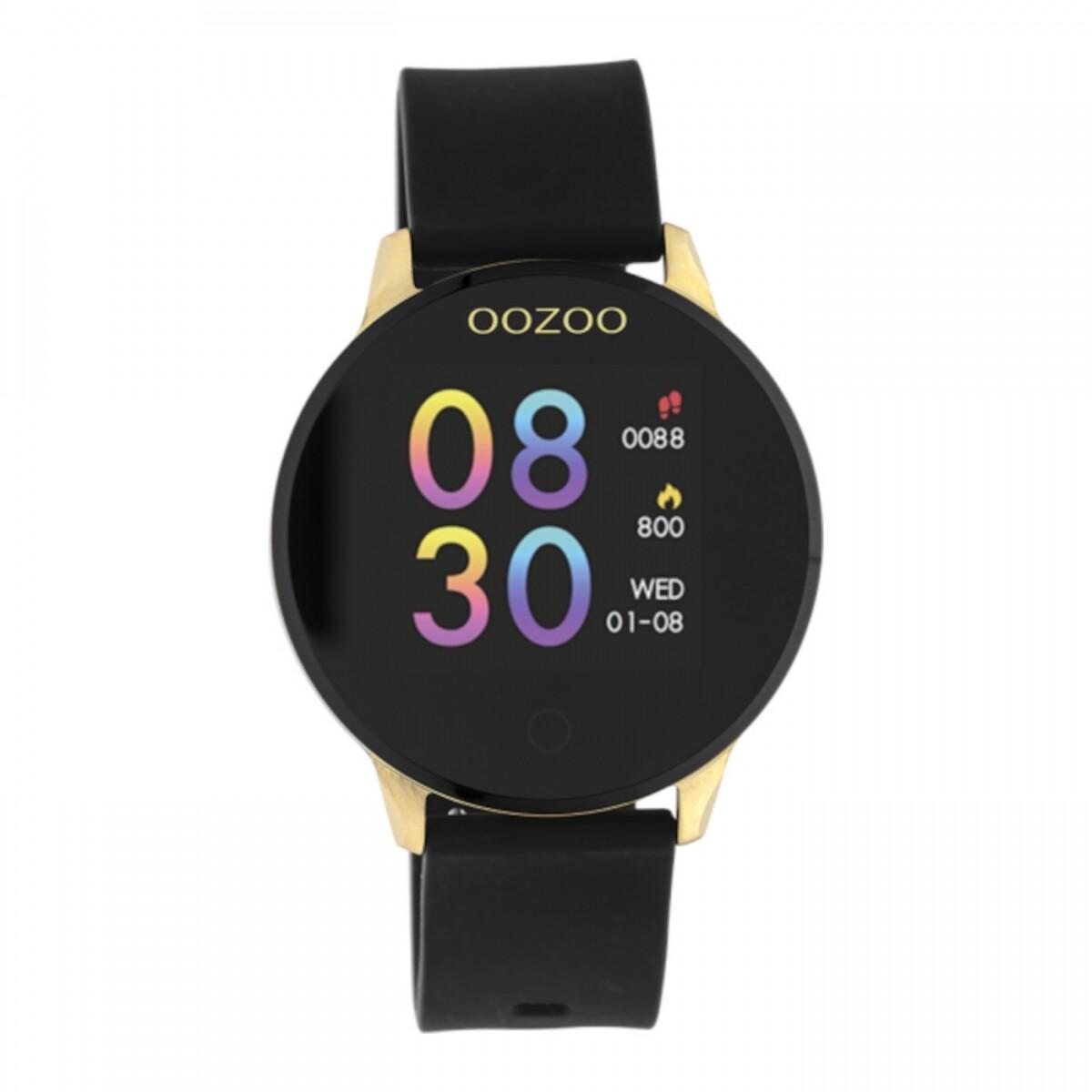 Q00120 smartwatch zwart/goud | OOZOO